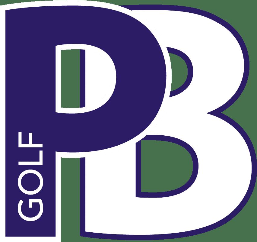 Logo PB Golf_white