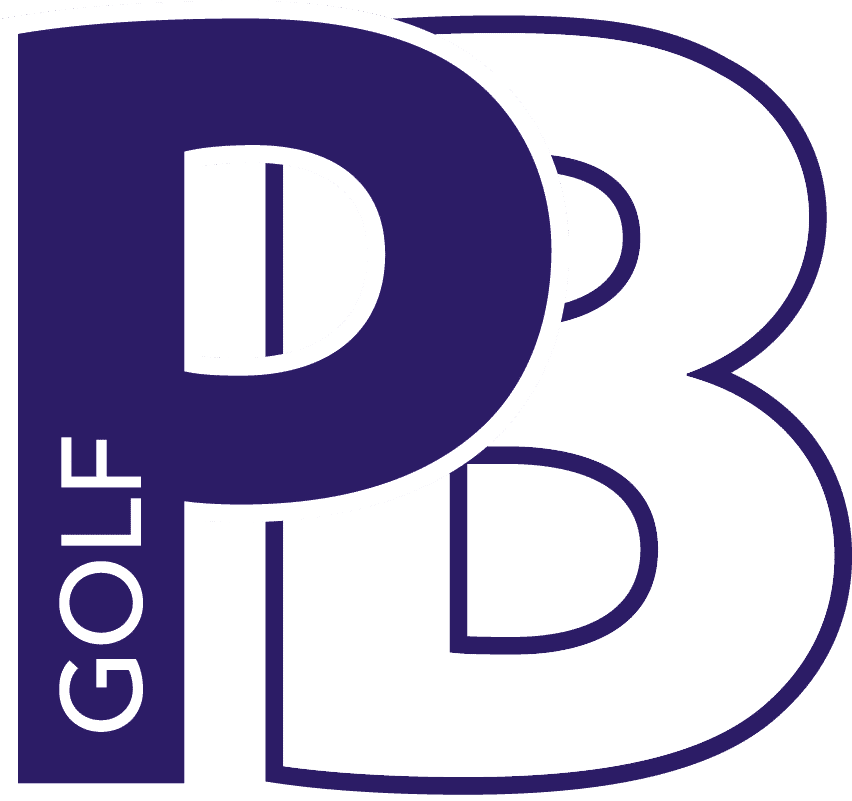 Logo PB Golf_white